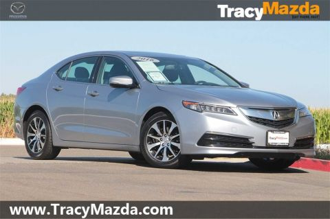 Pre-Owned 2016 Acura TLX 2.4L 8-Speed Dual-Clutch FWD 4D Sedan