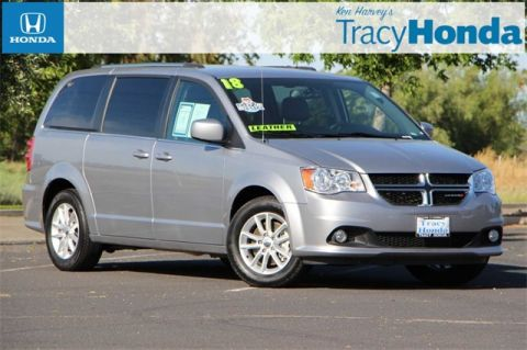 Pre-Owned 2018 Dodge Grand Caravan SXT 6-Speed Automatic FWD 4D Passenger Van