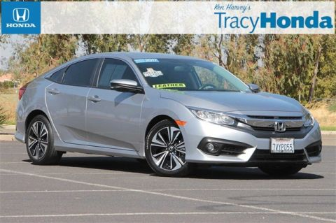 Pre-Owned 2017 Honda Civic EX-L CVT with Navigation