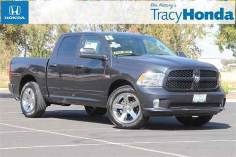 Pre-Owned 2018 Ram 1500 Express 8-Speed Automatic RWD 4D Crew Cab
