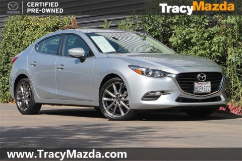 Certified Pre-Owned 2018 Mazda3 Touring 6-Speed Automatic FWD 4D Sedan