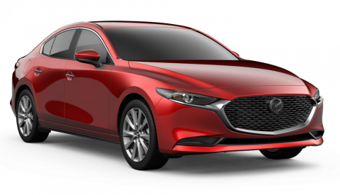 New 2019 Mazda3 Select Base 6-Speed Automatic FWD 4D Sedan