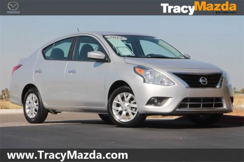 Pre-Owned 2018 Nissan Versa 1.6 SV CVT with Xtronic FWD 4D Sedan