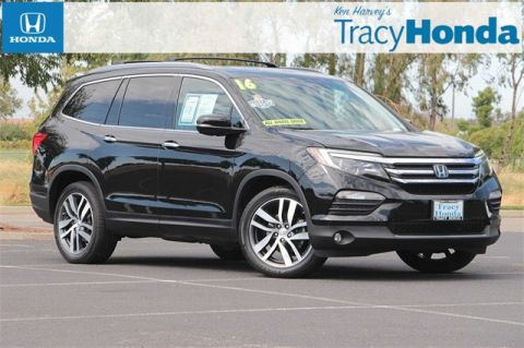 Pre-Owned 2016 Honda Pilot Elite 9-Speed Automatic with Navigation & AWD