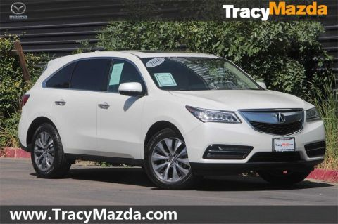 Pre-Owned 2016 Acura MDX 3.5L 9-Speed Automatic with Navigation