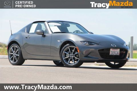 Certified Pre-Owned 2017 Mazda Miata RF Grand Touring LAUNCH EDITION