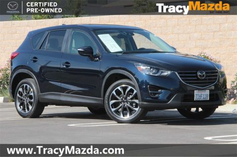 Certified Pre-Owned 2016 Mazda CX-5 Grand Touring 6-Speed Automatic with Navigation