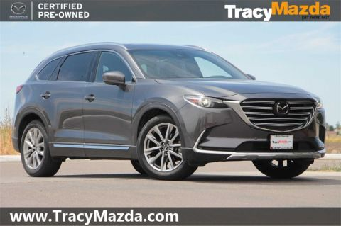 Certified Pre-Owned 2018 Mazda CX-9 Grand Touring 6-Speed Automatic with Navigation